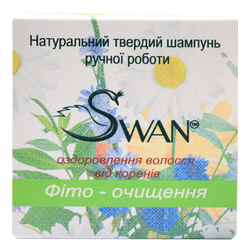 "Natural solid shampoo ""Phyto cleanse"" (100 g)"