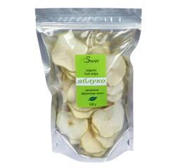 """Органічні фруктові чіпси """"Яблуко""""  (100 г)"""