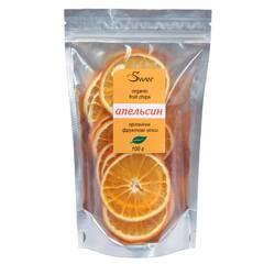 """Органічні фруктові чіпси """"Апельсин"""" (50 г)"""