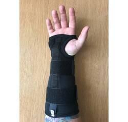 Бандаж на лучезапястный сустав с ребром жесткости медицинский эластичный воздухопроницаемый увеличенн. г. M, L M