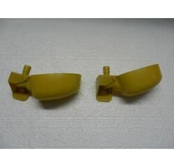 Мікрочашкова поїлка з одним патрубком (МК-1) жовта