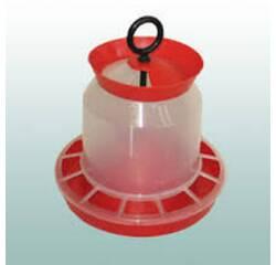 Годівниця для курей бункерна з клапаном 10 кг