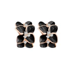 Сережки Abbelin чорні C605