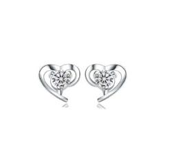 Сережки Abbelin сріблясті C011A
