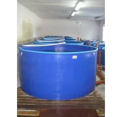 Басейн круглий для риборозведення об'ємом 4,5 м3, поліпропілен
