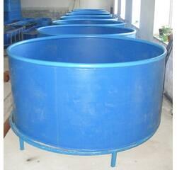 Басейн круглий для риборозведення об'ємом 1,5 м3, поліпропілен