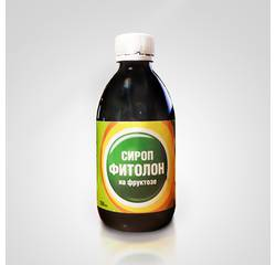 Fitolon fructose syrup (sugar free, only natural ingredients)