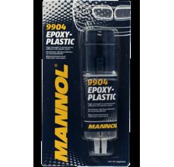 Клей двохкомпонентний для пластмаси Epoxy-Plastic Mannol 30г