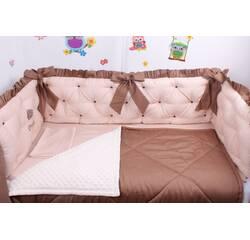 Комплект в ліжечко каретне стягування