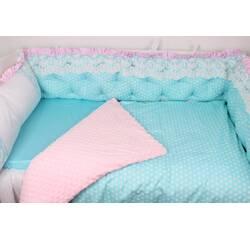 """Ніжний комплект в ліжечко для Принцеси """"Аквамарин"""""""
