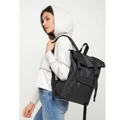 Рюкзак RollTop 0SH черный