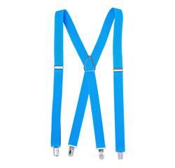 Жіночі підтяжки Braces хрестові блакитною   (BR109880)