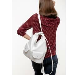 Женский рюкзак Sambag Asti XKH белый