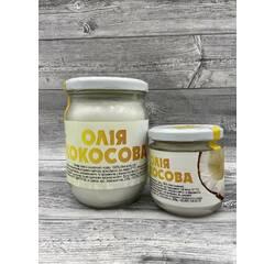 Кокосовое масло нерафинированое, 200 мл