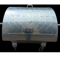 Контейнер металевий для збору ТПВ (Євроконтейнер, 1,1 куб.м.)
