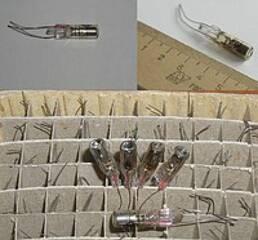 Индикатор газоразрядный световой (точечный) ИНС-1