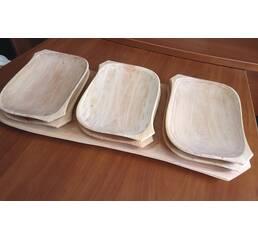 Деревянные тарелки под пиццу, стейки и прочее