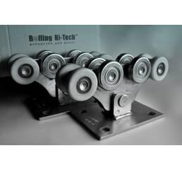 Фурнітура для відкатних воріт: Посилений комплект до 500кг( метало - полімерні ролики)