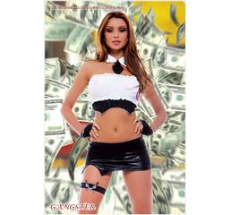 Еротичний костюм для рольових ігор гангстер Hamana GANGSTER 975b539e47c70