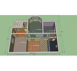 Строительство. Капитальный монолитный дом. Площадь 242,5 м. кв. 2 этажа. Отличная тепло-шумоизоляция.
