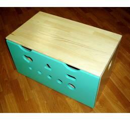 Ящик для игрушек (бирюза)