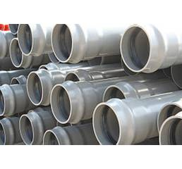 Труби ПВХ для зовнішнього напірного водопроводу