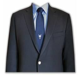 Краватка з логотипом