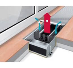 Конвектор для водяного опалення WSK