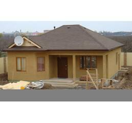Построим дом 7 на 7,65м. с эркером. Площадь 50,5 м. кв. Срок строительства 3 недели.