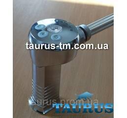 """ТЭН з регулятором (Польща) хром   маскувальний елемент для дроту. 1/2"""" різьблення; 300-600Вт."""