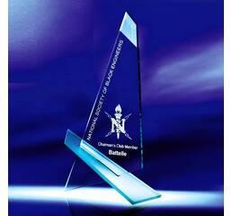 Эксклюзивные стеклянные награды арт. PG110
