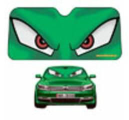 Солнцезащитная шторка EX Маньяк (зеленая) BAS-13
