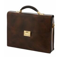 Женская сумка-портфель Montblanc L3009-5A Цвет: коричневый
