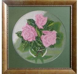 """Схема для вышивки картины бисером """"Розы"""""""