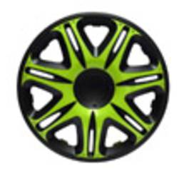 Колпаки Jacky 14 NASCAR GREEN-BLACK 101936