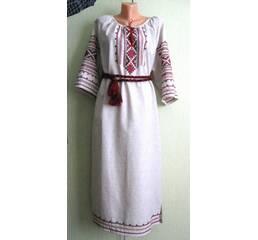 платье -вышиванка ручной работы