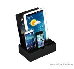 Док-станция для телефонов, смартфонов и планшетов All-Dock, цвет - черный, размер - М