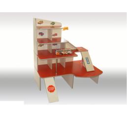 """Ігровий комплект дитячих меблів """"Паркінг"""""""