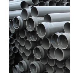 Труба каналізаційна ПВХ 100 L = 315 мм (ЧК250)