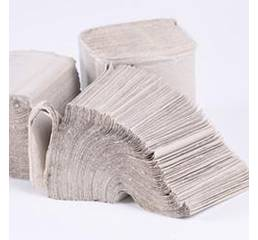Туалетная бумага. Avial Туалетная бумага листовая, макулатурная, серая. B-303.