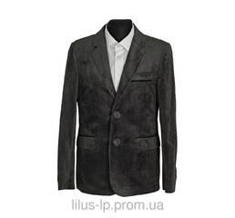 Пиджак подростковый велюровый 419пН