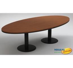 Конференц-стол шпон ENR- Статус Люкс 23СТ52