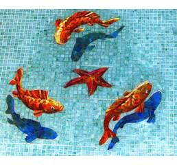 Басейни в мозаїчній плитці
