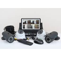Комплект видеонаблюдения 2х2 GreenVision (комплект відеоспостереження)