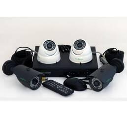 Комлект видеонаблюдения 2х2 (комплект відеоспостереження)