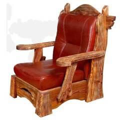 Кресло из массива сосны