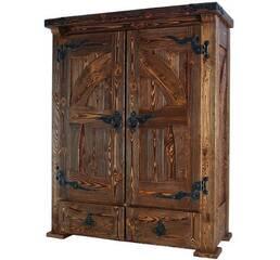 Шкаф из массива сосны