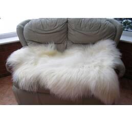 Шкура овцы - овечья шкура (белого цвета)