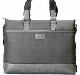 Чоловіча сумка портфель Kabinias сірий