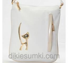 Женская сумка - клатч Gilda Tohetti  белого цвета